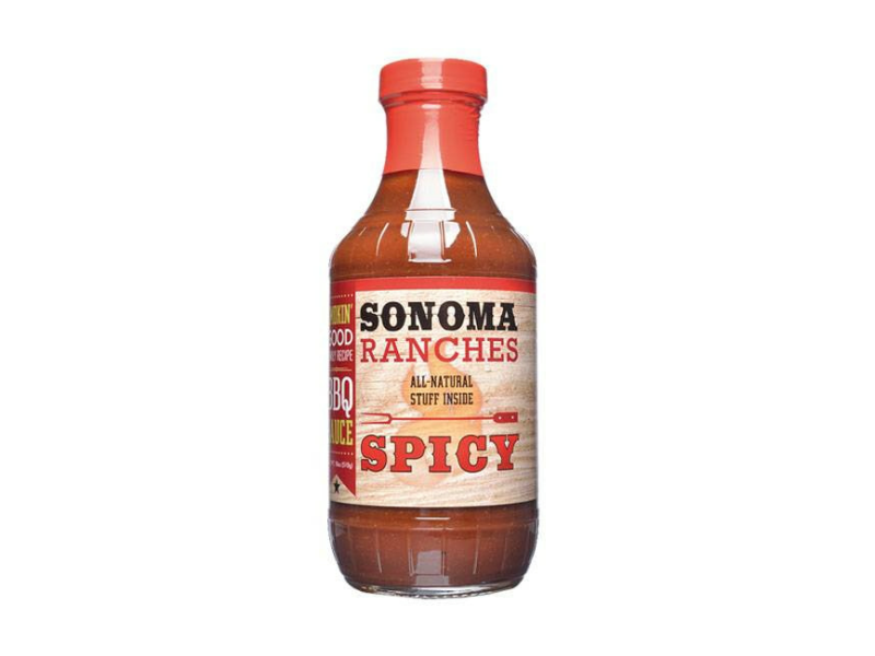 Sonoma Ranches Spicy BBQ Sauce 455ml