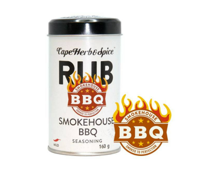 Cape Herb Rub Smokehouse BBQ 160g